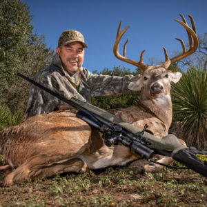 Native Texas whitetail management buck
